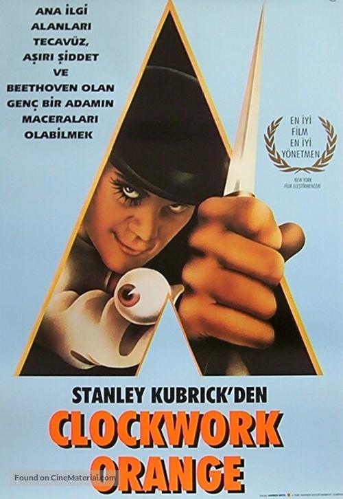 A Clockwork Orange - Turkish Movie Poster
