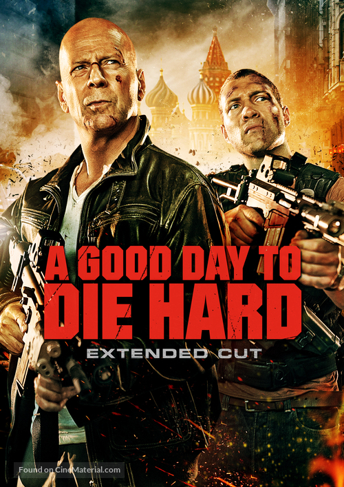 A Good Day to Die Hard - DVD cover