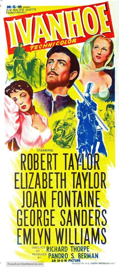 Ivanhoe - Australian Movie Poster