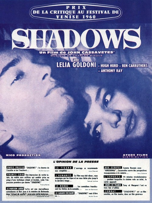 Shadows - French Movie Poster
