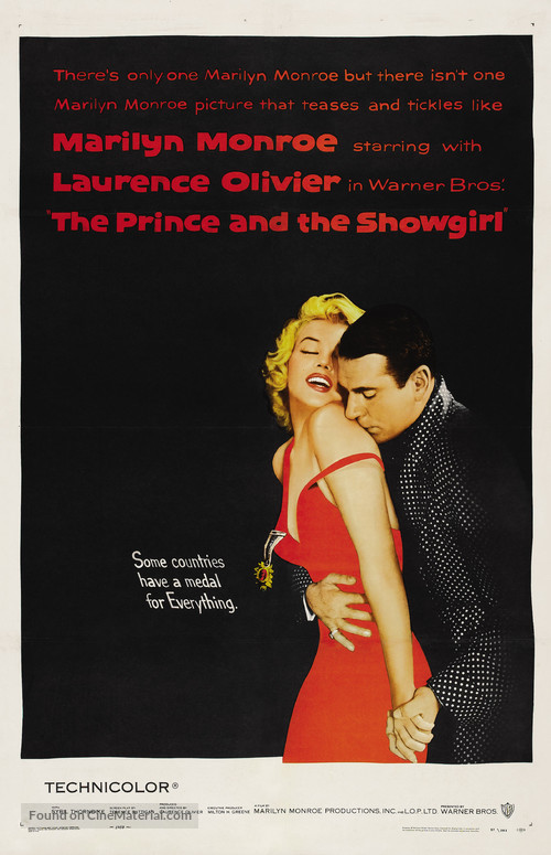 The Prince and the Showgirl - Movie Poster