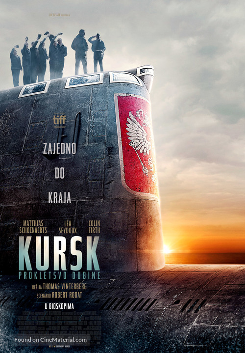 Kursk - Serbian Movie Poster