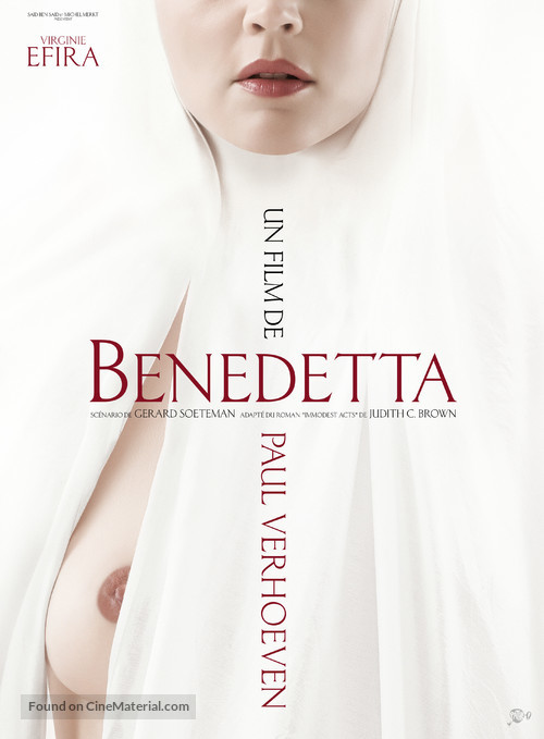 Benedetta - French Theatrical movie poster