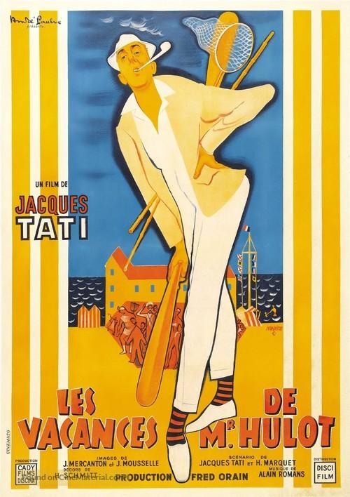 Les vacances de Monsieur Hulot - French Movie Poster
