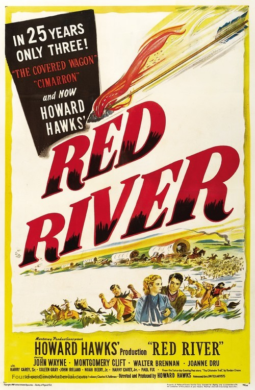 Red River - Movie Poster