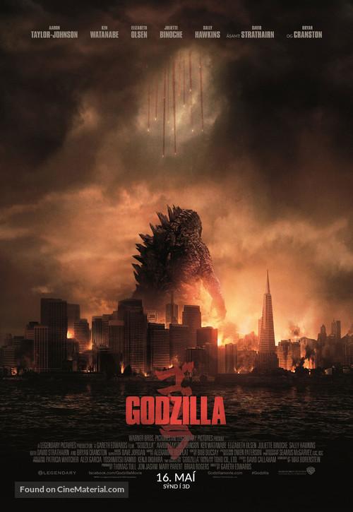 Godzilla - Icelandic Movie Poster