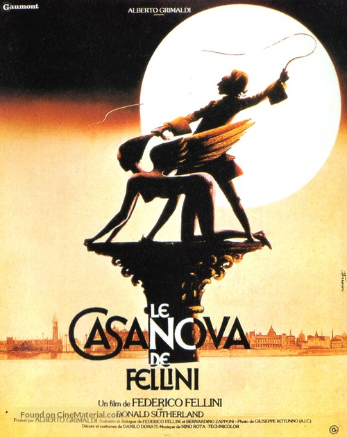 Il Casanova di Federico Fellini - French Movie Poster