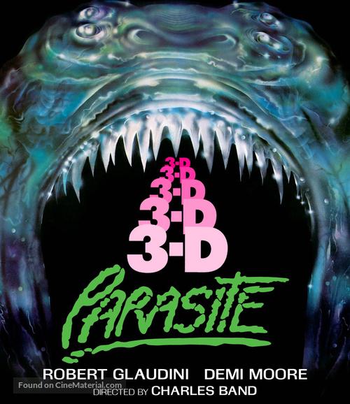 Parasite - Blu-Ray movie cover