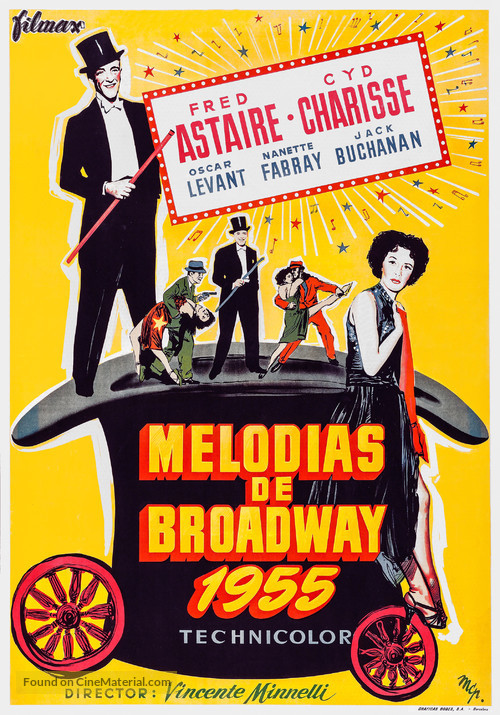 The Band Wagon - Spanish Movie Poster