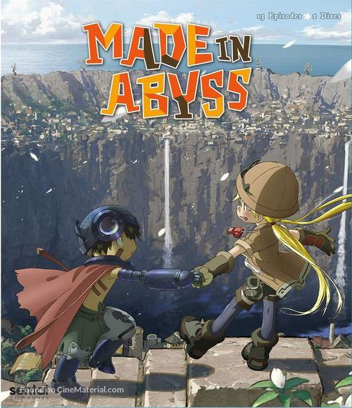 """""""Made in Abyss"""" - Blu-Ray movie cover"""
