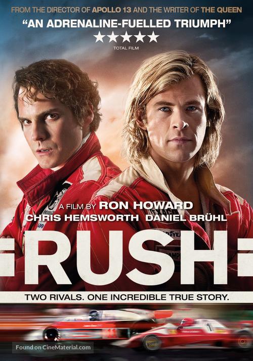 Rush - DVD movie cover