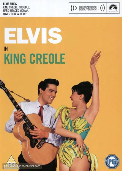 King Creole - British DVD movie cover