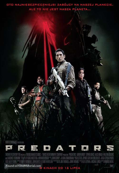Predators - Polish Movie Poster