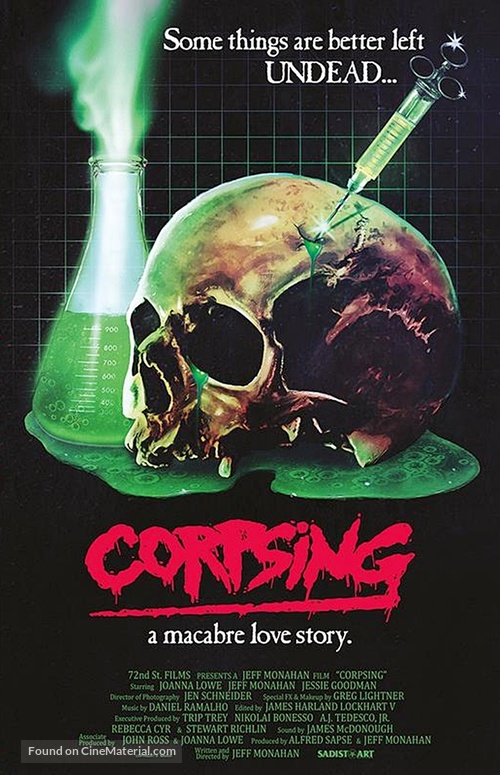 Corpsing - German Blu-Ray cover
