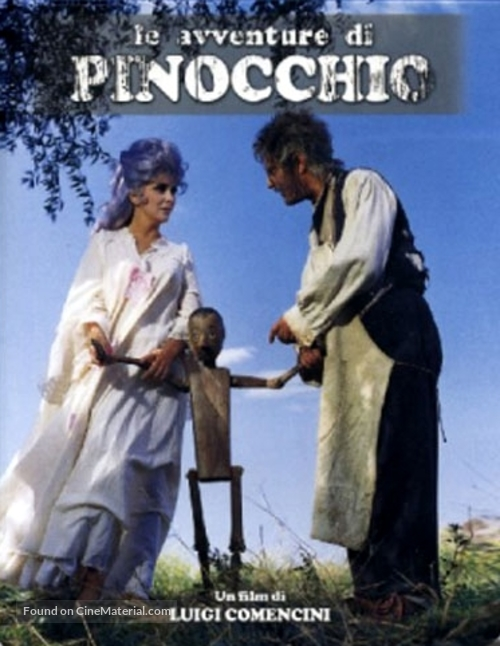 """Avventure di Pinocchio, Le"" - Italian DVD movie cover"