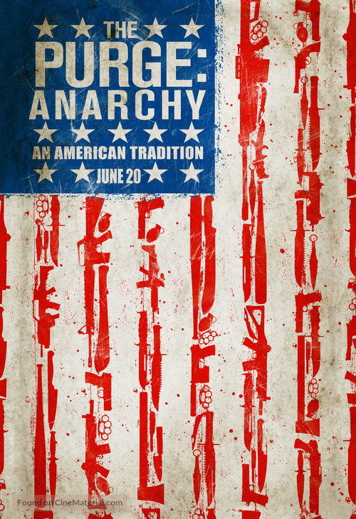 The Purge: Anarchy - Movie Poster