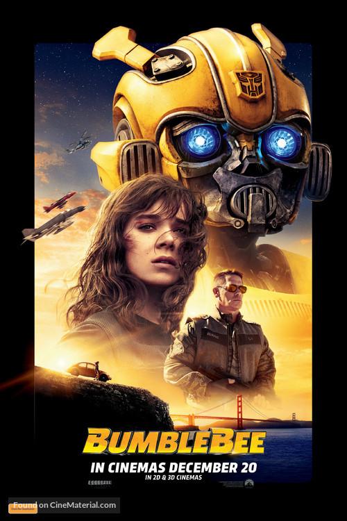 Bumblebee - Australian Movie Poster