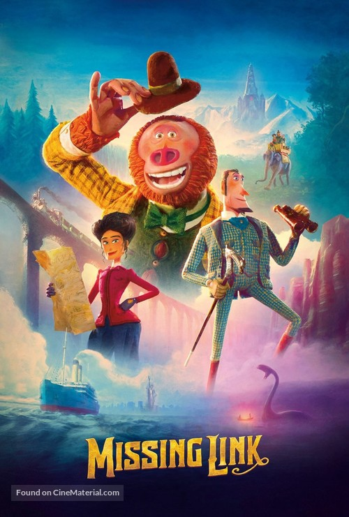 Missing Link - Video on demand movie cover
