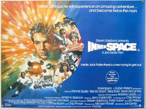 Innerspace - Australian Movie Poster