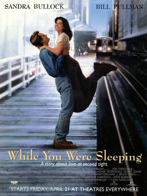 While You Were Sleeping - Theatrical poster