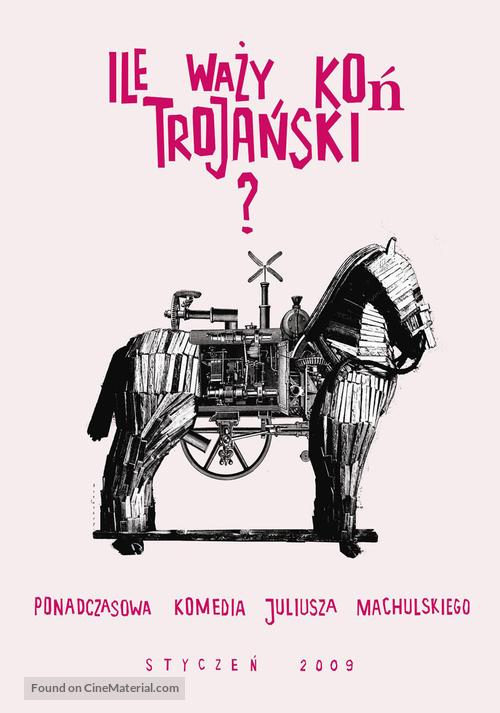 Ile Wazy Kon Trojanski Polish Movie Poster