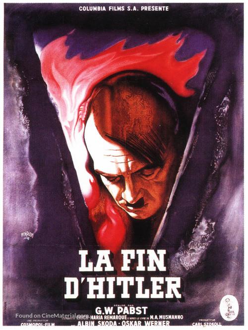 Der Letzte Akt - French Movie Poster