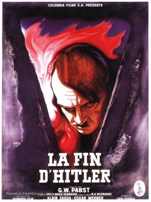 Letzte Akt, Der - French Movie Poster