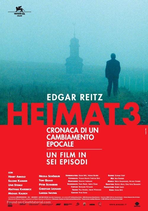 Heimat 3 Chronik Einer Zeitenwende Italian Movie Poster