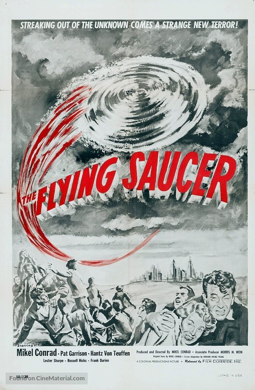 The Flying Saucer - Movie Poster