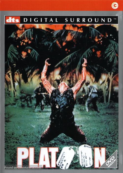 Platoon - Italian DVD movie cover