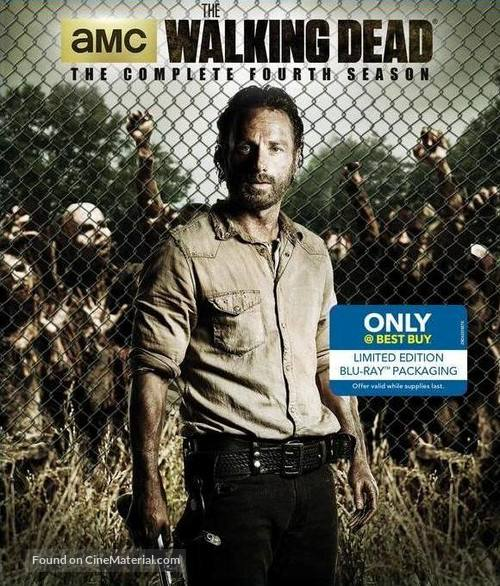 """The Walking Dead"" - Blu-Ray movie cover"