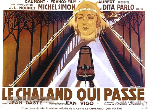 L'Atalante - French Movie Poster