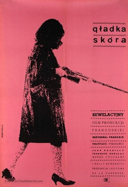 La peau douce - Polish Movie Poster