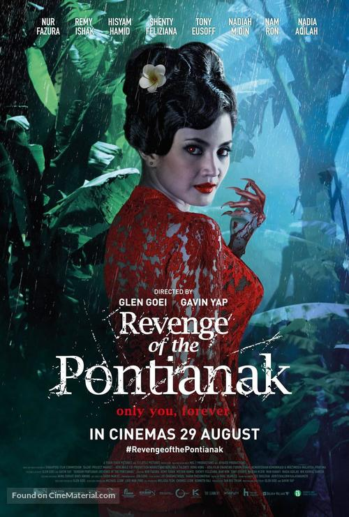 Revenge of the Pontianak - Singaporean Movie Poster