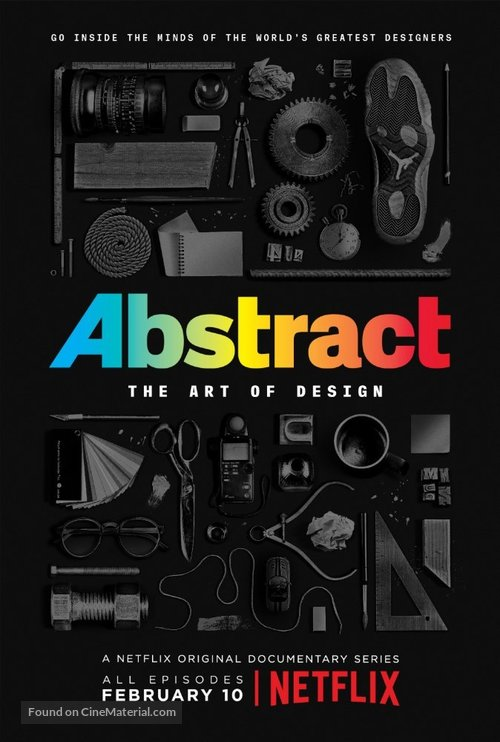 """""""Abstract: The Art of Design"""" - Movie Poster"""