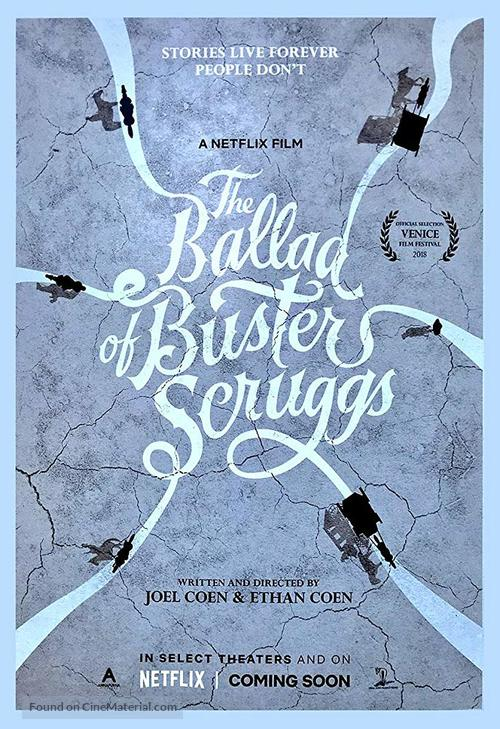 La Ballade de Buster Scruggs affiche