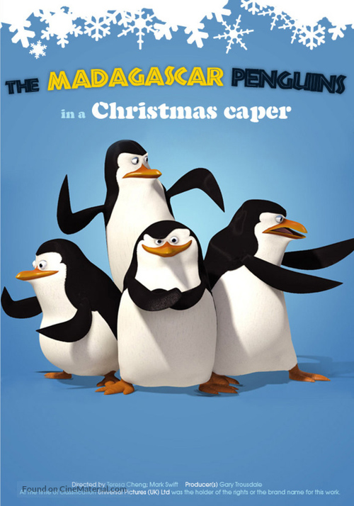 The Madagascar Penguins in: A Christmas Caper - Movie Poster