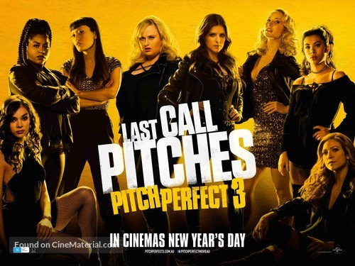 Pitch Perfect 3 - Australian Movie Poster