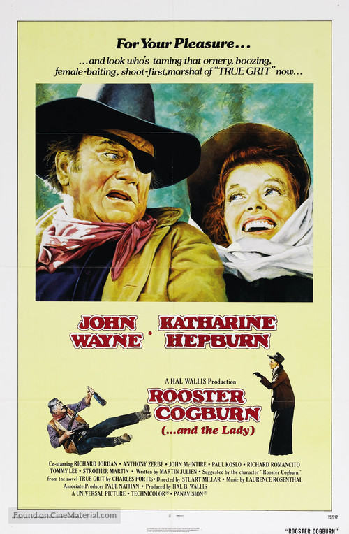 Rooster Cogburn - Movie Poster