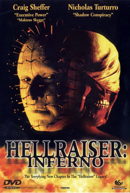 Hellraiser: Inferno - Norwegian Movie Cover