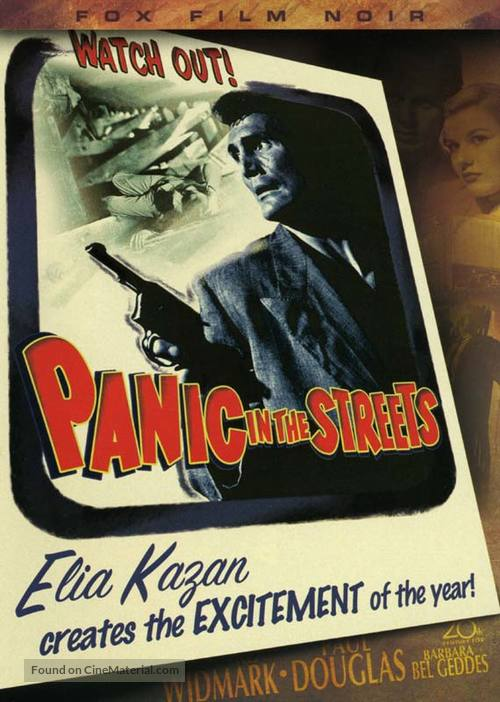 Panic in the Streets - DVD movie cover