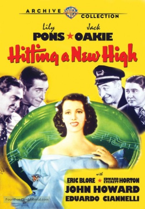 Hitting a New High - DVD cover