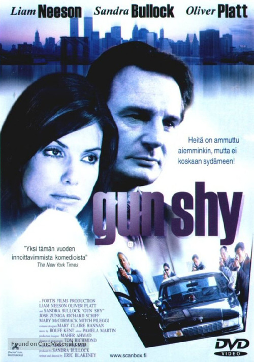 Gun Shy - Finnish DVD cover