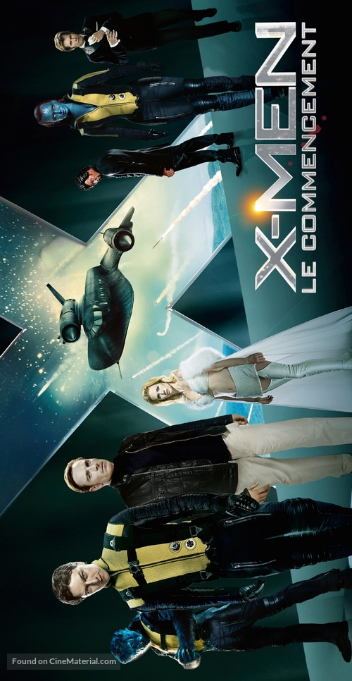 X-Men: First Class - French Movie Poster