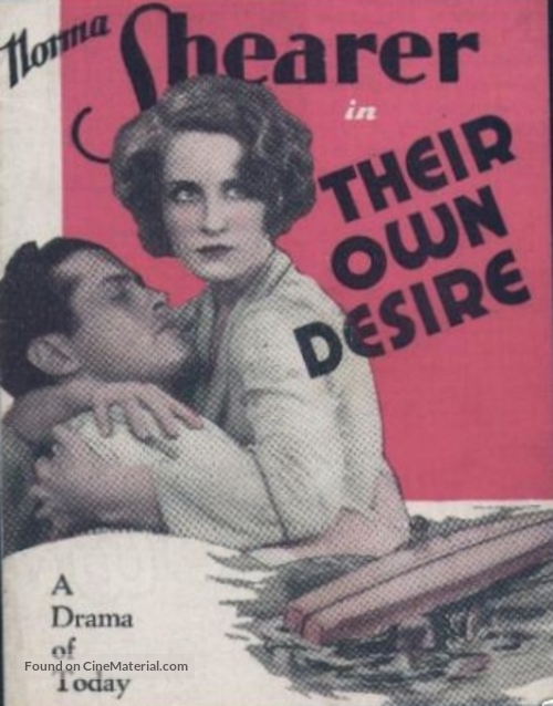 Their Own Desire - Movie Poster
