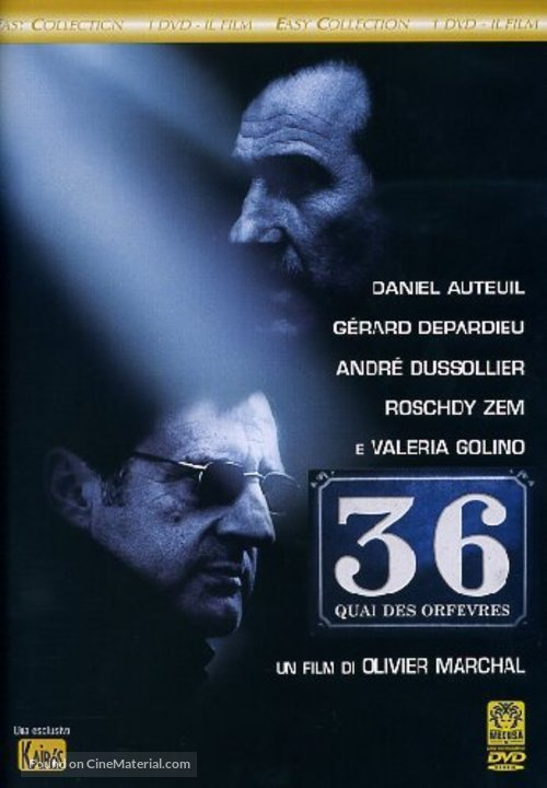 36 Quai des Orfèvres - Italian DVD movie cover
