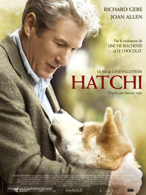 Hachiko: A Dog's Story - French Movie Poster