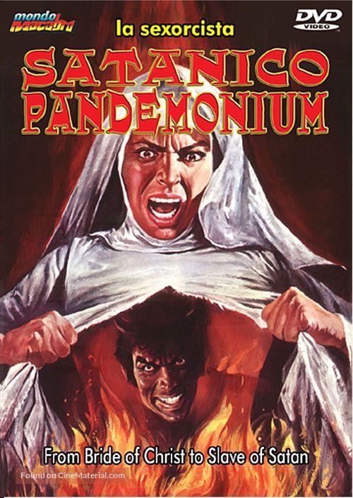 Satánico pandemonium - DVD cover