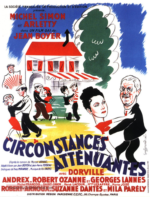 Circonstances attènuantes - French Movie Poster
