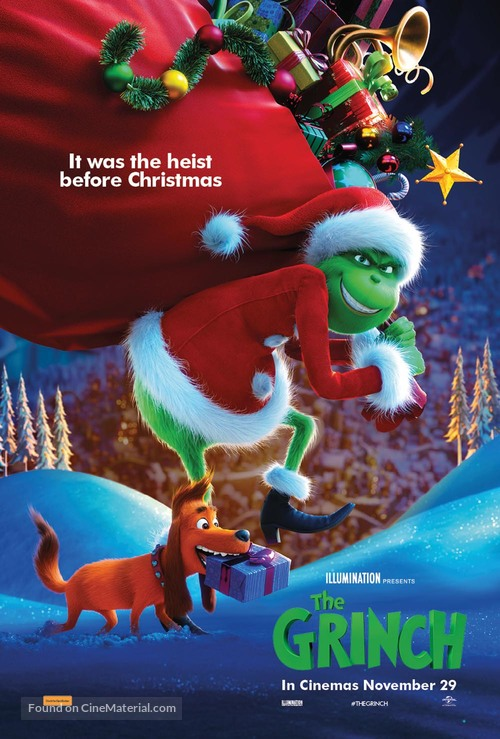 The Grinch - Australian Movie Poster